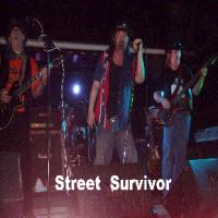 Street Survivor Band page